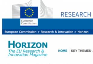 Horizon magazine Commission européenne
