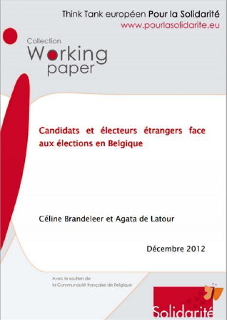 Candidats et électeurs étrangers face  aux élections en Belgique