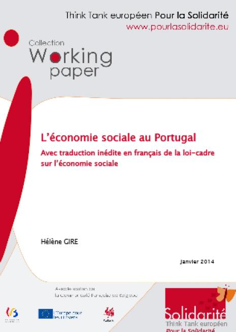 image couverture économie sociale au Portugal