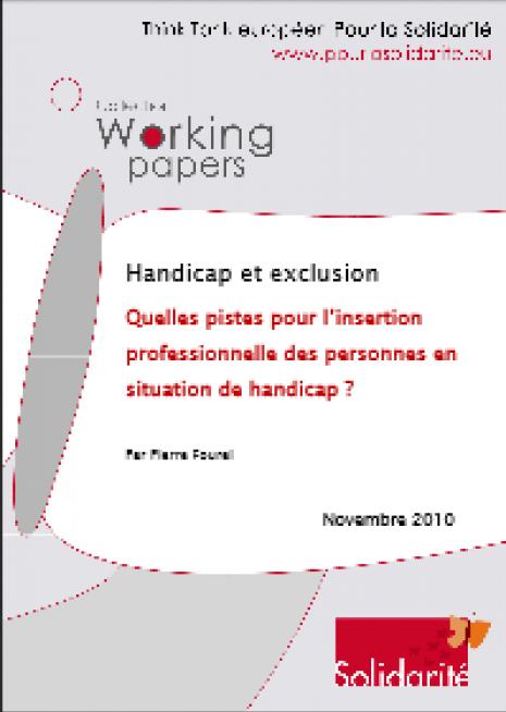image couverture handicap et exclusion
