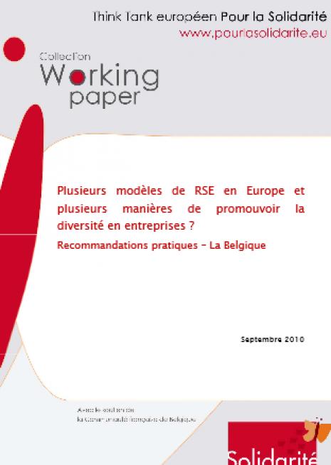 image couverture Plusieurs modèles de RSE en Europe et plusieurs manières de promouvoir la diversité en entreprises ?