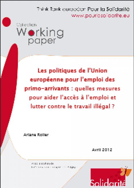 image couverture Les politiques de l'Union européenne pour l'emploi des primo - arrivants
