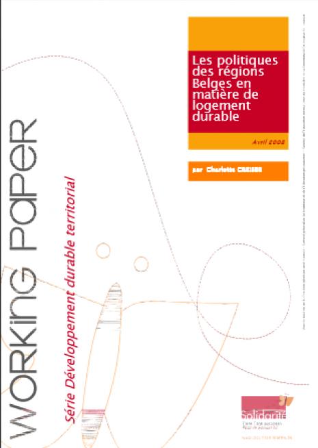 image couverture Les politiques des régions Belges en matière de logement durable