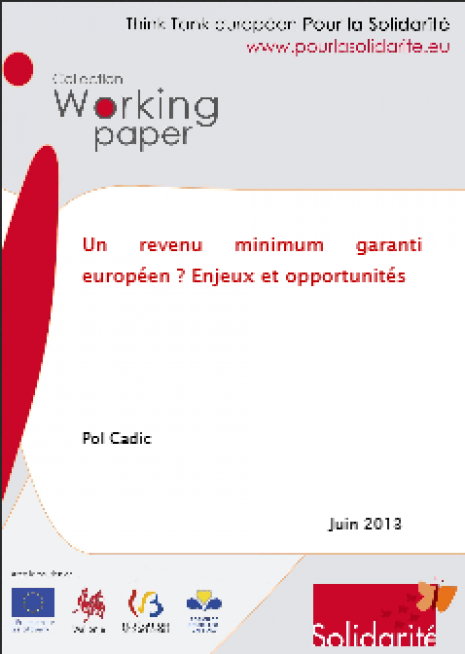 image couverture un revenu minimun garanti européen enjeux et opportunites