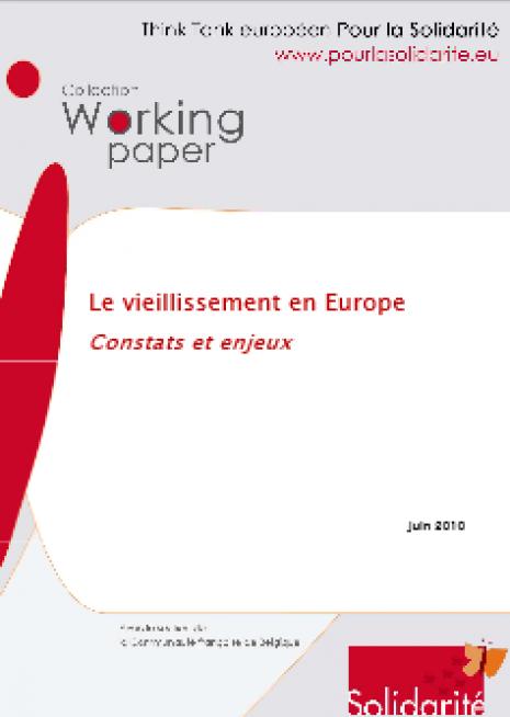image couverture le vieillisement en europe