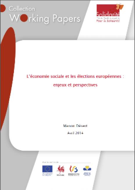 L'économie sociale et les élections européennes : enjeux et perspectives - cover