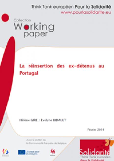 La réinsertion des ex-détenus au  Portugal - Cover